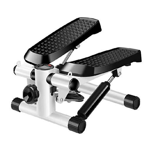HATHOR-23 Kleine Heimschrittmaschine, Swing Stepper Für Übungen Mit LED-Anzeige, Fitness-Übungsraum Swing Stepper Mit Elastischem Seil