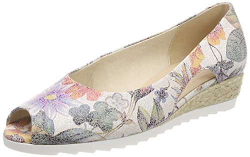 Gabor Shoes Damen Comfort Sport Pumps, Mehrfarbig (Multicolor (Jute), 40.5 EU