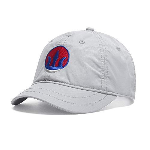 wtnhz Baseball cap summer quick-drying short brim equestrian hat couple sun hat fashion