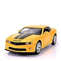 ダイキャストモデルカー 1/32に適用するカマロおもちゃダイキャストモデルカー合金プルバックおもちゃコレクションギフトシミュレーションオフロード車キッズオーナメント (Color : 1)