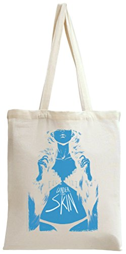 Under the skin poster Tote Bag