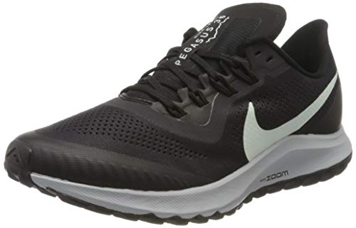 Nike Women's Wmns Air Zoom Pegasus 36 Trail Running Shoes,Gray (Oil Gray / Barely Gray-Black-Wolf Gray 2),7.5 UK,42 EU
