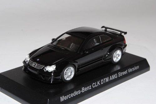 Kyosho Mercedes-Benz CLK DTM AMG Street Version Coupe Schwarz C209 2002-2010 1/64 Sonderangebot Modell Auto mit individiuellem Wunschkennzeichen