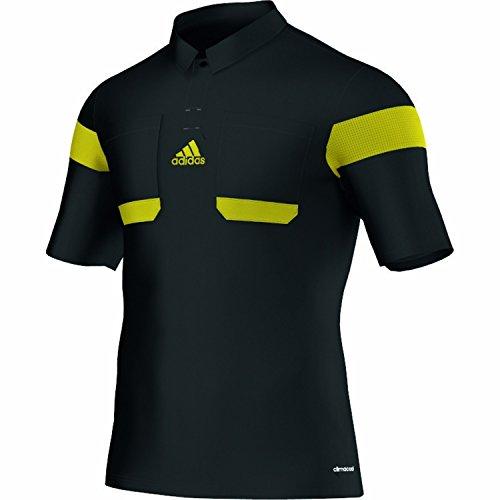 Adidas Schiedsrichter Trikot 13/14 Herren Schwarz-Neongelb, G73814_Größe:L