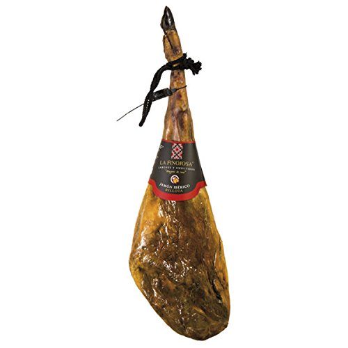 Jamón Bellota Ibérico 'La Finojosa' . Pieza entera. Peso aproximado 7,5 - 8,5 kg