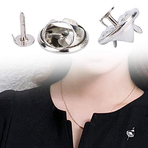 Tachuelas de corbata, material metálico con buena resistencia a la corrosión Durable de usar con exquisita mano de obra Broche de broche para fábrica para el hogar