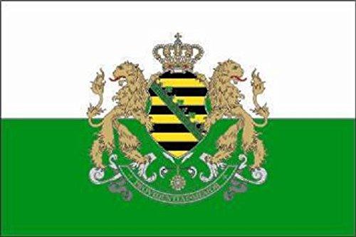 U24 Fahne Flagge Sachsen Königreich Sachsen 90 x 150 cm