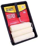 FFJ - Kit de rodillos de pintor (3 cabezas, 22,8 cm)