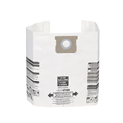 General Dust Filter Bag for Shop Vacuum