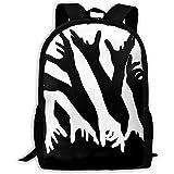 Unisex Adult Backpack Impressive Opticals Bookbag Travel Bag Schoolbags Laptop Bag
