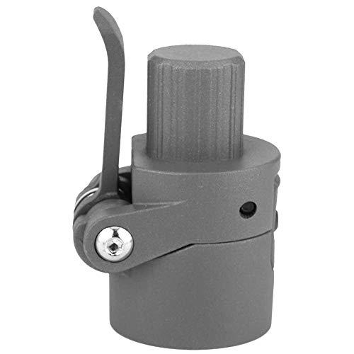 Broco Vouwen Paal Base Vervanging Reserveonderdelen Elektrische Scooter Vervanging Onderdeel Accessoire voor Xiaomi M365 Elektrische Scooter (Zwart)