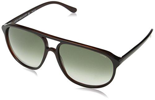 Lozza Unisex-Erwachsene ZILO SPORT Sonnenbrille, Braun (Shiny Olive Brown)