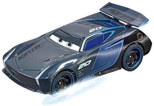 Carrera Go 20064151 Disney Pixar Cars-Jackson Storm-Neon Nights, schwarz