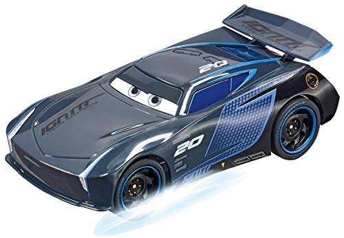 Carrera Go 20064151 Disney·Pixar Cars-Jackson Storm-Neon Nights, Nero