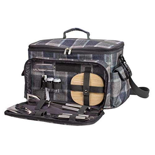 LoaMythos(ロアミトス) BBQ All in Oneクーラーバッグ クッキングツールセット バーベキュー キャンプ アウトドア グランピング クーラーボックス 保冷バッグ