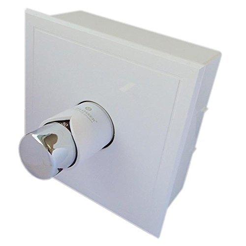 anapont Rücklauftemperaturbegrenzer RTL, mit Kasten, erhältlich, G3/4 (weiß - Chrom)