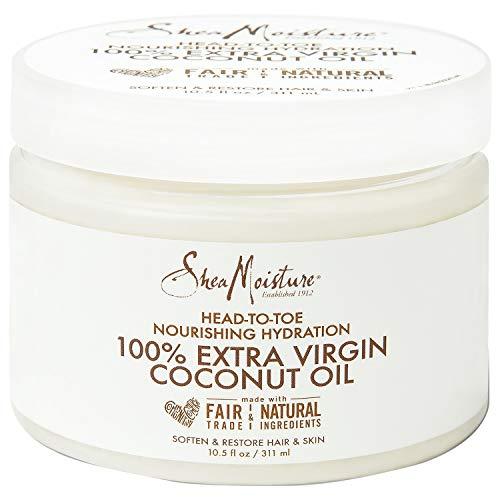 Sheamoisture Head-to-Toe Nourishing Hydration for Dry Skin 100% Virgin Coconut Oil Paraben Free Skin Care 10.5 oz