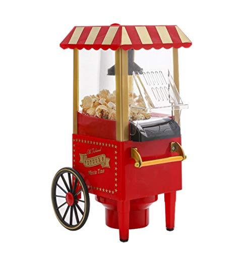Popcorn Maschine Popcorn Maker Popcorn Automat Popcorn Maschine Nostalgie Popcorn Maschine rot Retro-Look