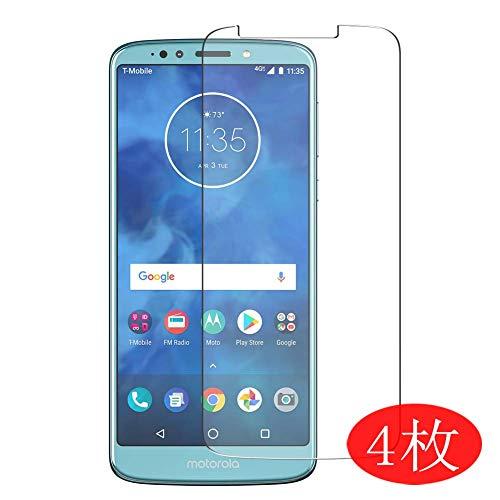 Vaxson 4 Stück Schutzfolie für Motorola Moto E5 Plus, Bildschirmschutzfolie Displayschutz Blasenfreies TPU Folie [Nicht Panzerglas]