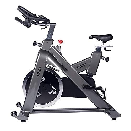 SAFGH Bicicletas estáticas magnéticas Bicicleta estática con transmisión por Correa Bicicleta Interior Bicicleta de Fitness Bicicleta para Entrenamiento Cardiovascular en casa Entrenamiento en BIC