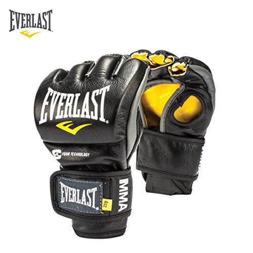 Everlast 7674XS Fight Gloves, X-Small (Black)