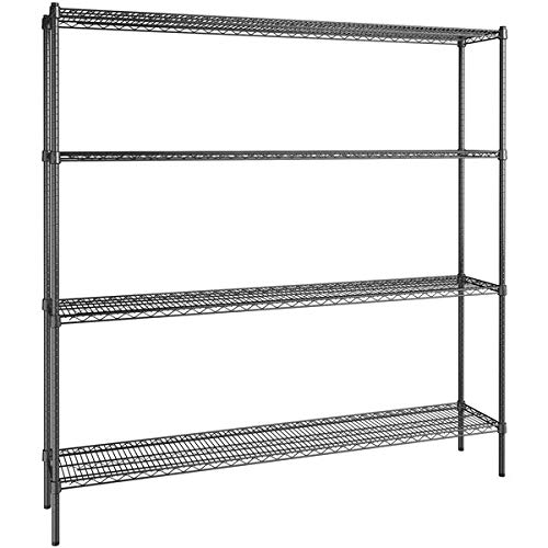 Stor 4-shelf Pine Shelving