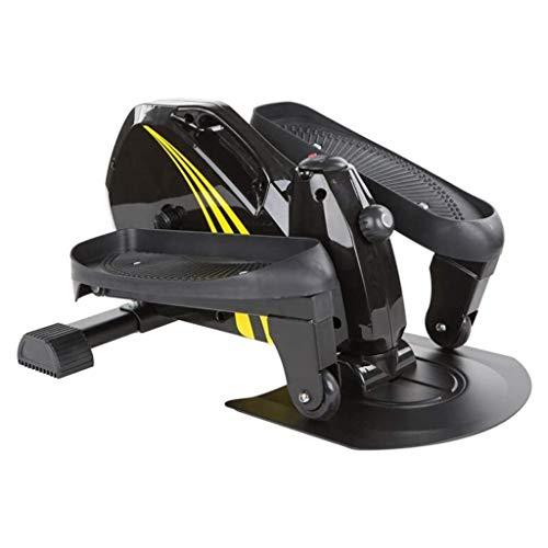 KSW_KKW Unter Desk Ellipsentrainer Schlank Fahrradheimtrainer, wie auf Fernseh Pedal Exerciser Elliptical Stepper Maschine, magnetische Stepper, Compact Strider Quiet Zyklus Übungs-Fahrrad