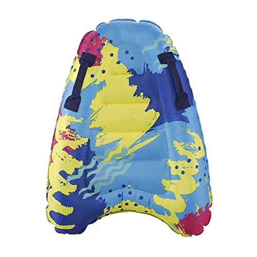 GRANDLIN Outdoor Tavola da Surf Gonfiabile Tinta Unita Boa Kickboard Bambini Safe Sea Surf Board per Bambini