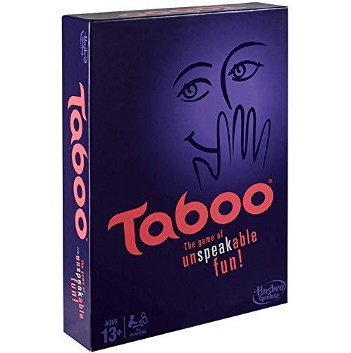 ZWCC Taboo Board Game Gioco da Tavolo per Bambini