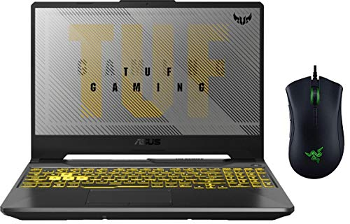 """2020 ASUS TUF 15.6"""" FHD Gaming Laptop PC   AMD 4th Gen 8-Core Ryzen 7 4800H   32GB RAM   128GB SSD Boot + 1TB HDD   NVIDIA RTX 2060 6GB   Backlit Keyboard   Gaming Mouse Included   Windows 10 Home"""