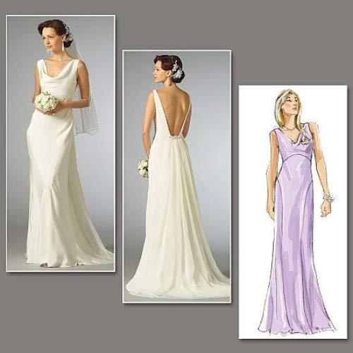 VOGUE PATTERNS V2965 Misses' Dress, Size C (10-12-14)