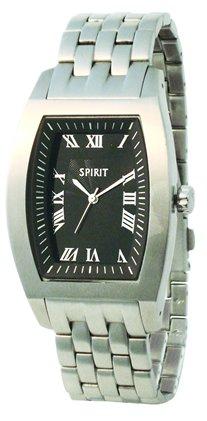 Spirit ASPG01 - Orologio da polso da uomo, cinturino in metallo colore argento