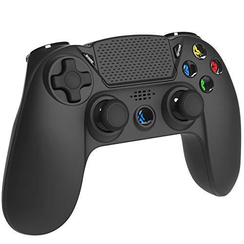 ELYCO Mando para P-4, Wireless Bluetooth Controlador De Juegos Inalámbrico Joystick Joypad Controller Gamepad para P-4 / Pro/Slim/P-3