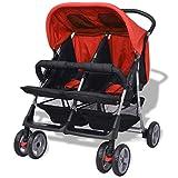 Galapara Geschwisterwagen Geschwister zwillingskinderwagen Zwillingsbuggy - Kinderwagen