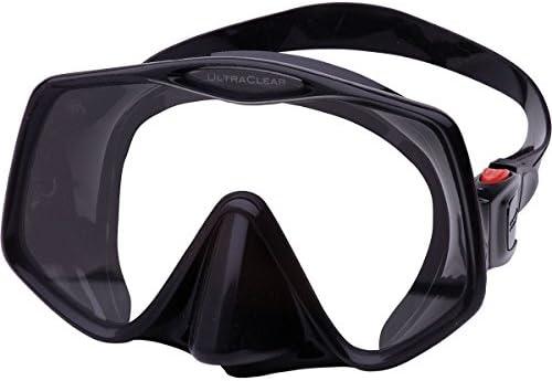 Atomic Aquatics Frameless 2 Mask Black Large Fit product image