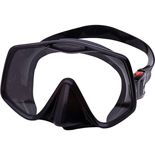 ATOMIC - Frameless 2 Medium schwarz-schwarz Tauchmaske