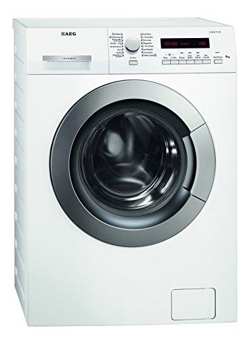 AEG LAVAMAT L73484VFL Waschmaschine FL / A+++ / 191 kWh/Jahr / 1400 UpM / 8 kg / 10900 L/Jahr / Dampfprogramme /Restlaufanzeige