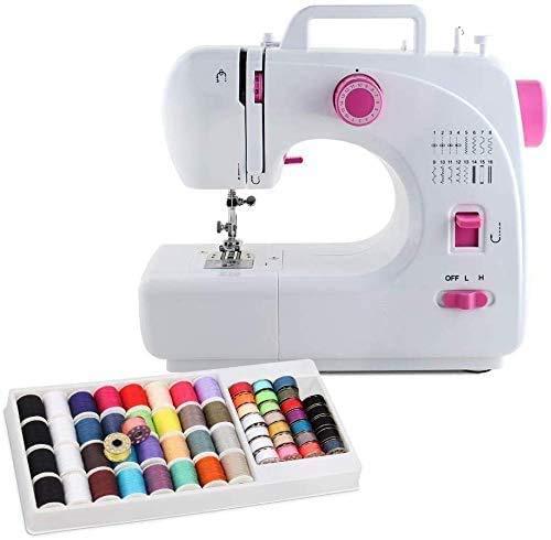 NC56 Máquina de coser 16 puntadas integradas con 60 piezas de rosca.