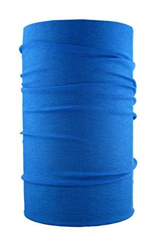 HeadLOOP Multifunktionstuch Schal Halstuch Kopftuch Microfaser (Blau2)