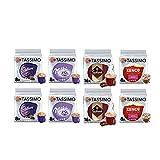 Tassimo Kenco Lot de 8 boîtes de 80 dosettes de chocolat chaud Moka Cadbury/Milka/Suchard