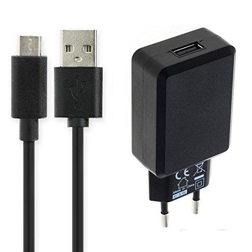 subtel® Cargador 1m, 3A Compatible con FiiO M6 / M7 / M9 / M11 / M3K / X3, 5V USB C (Type C) Cable de Carga Negro