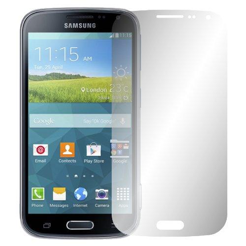 Slabo 2 x Bildschirmfolie kompatibel mit Samsung Galaxy K Zoom Bildschirmschutzfolie Zubehör Crystal Clear KLAR