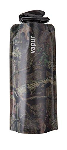 Vapur Bouteille d'eau réutilisable Anti Chêne Moussu Camouflage, 0.7 l