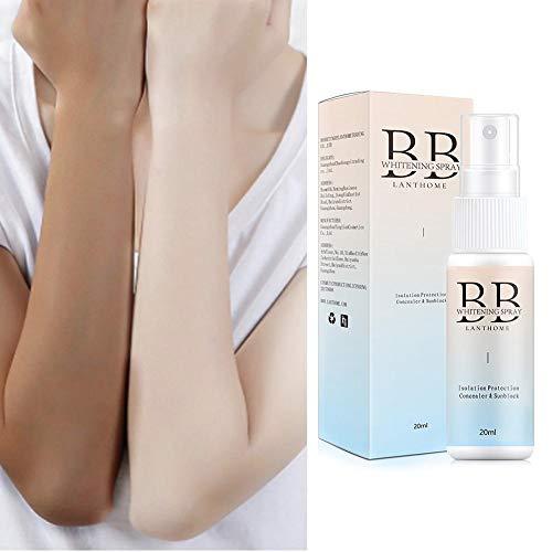 Spray BB Creme Concealer Aufhellen Bleaching Feuchtigkeitsspendende Basis Gesicht Foundation Aufhellen Make-up Wasserdicht Sweatproof Langlebige Schönheit Hautpflege