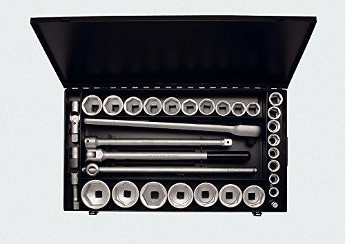 Elora 771-S24/1 MU Steckschlüssel-Satz 3/4 Zoll, Sechskant, 34-teilig 18-60 mm