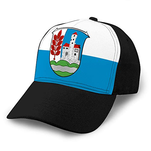 shdgfhdfghdf Denim Baseball Cap Men Women Golf Hats Adjustable Cap Flag of werra Meissner in Hesse Germany Classic Baseball Cap
