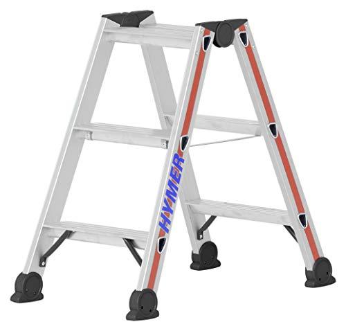 Hymer 402406 Stufenstehleiter 2 x 3 Stufen