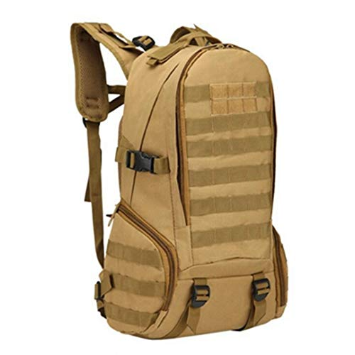 RatenKont 35L Army Military Tactical Climbing Mountaineering Camping Hiking Trekking Travel Outdoor Bag tan 30-40L