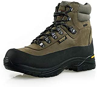Hanagal Men's Everest Breathable Waterproof Hiking Shoes Outdoor Trekking Boots Approaching Backpacking Mountaineering Olive Green