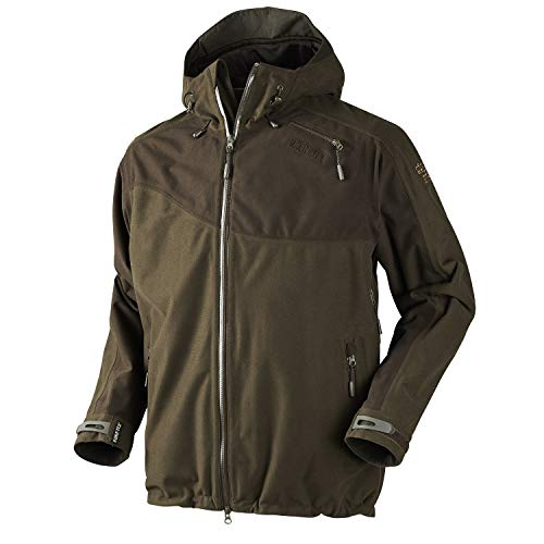 Why Choose Harkila Vector Jacket Hunting Green/Shadow Brown C50 Green